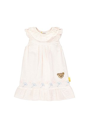 STEIFF COLLECTION KLEID MIT STREIFEN - Day dress - powder pink