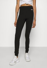 Fila - TASYA - Leggings - Trousers - black/bright white - 0
