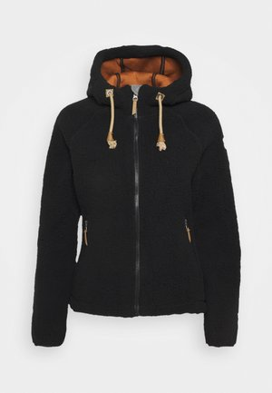 VIAREGGIO - Fleece jacket - black
