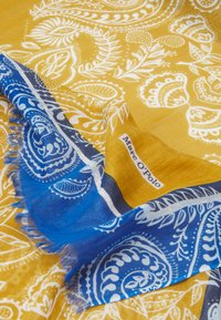 Marc O'Polo - SCARF SUPER SOFT MIX VARIOUS PRINTS - Sjal - mustard/blue - 2