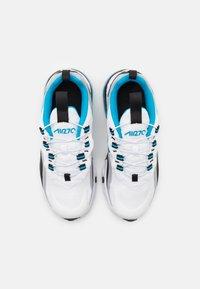 Nike Sportswear - NIKE AIR MAX 270 RT BP - Baskets basses - white/laser blue/wolf grey/black - 3