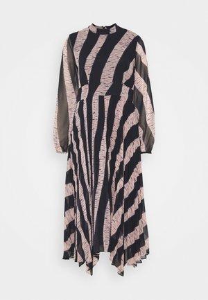 SHIBORI PRINT DRESS - Day dress - dark blue