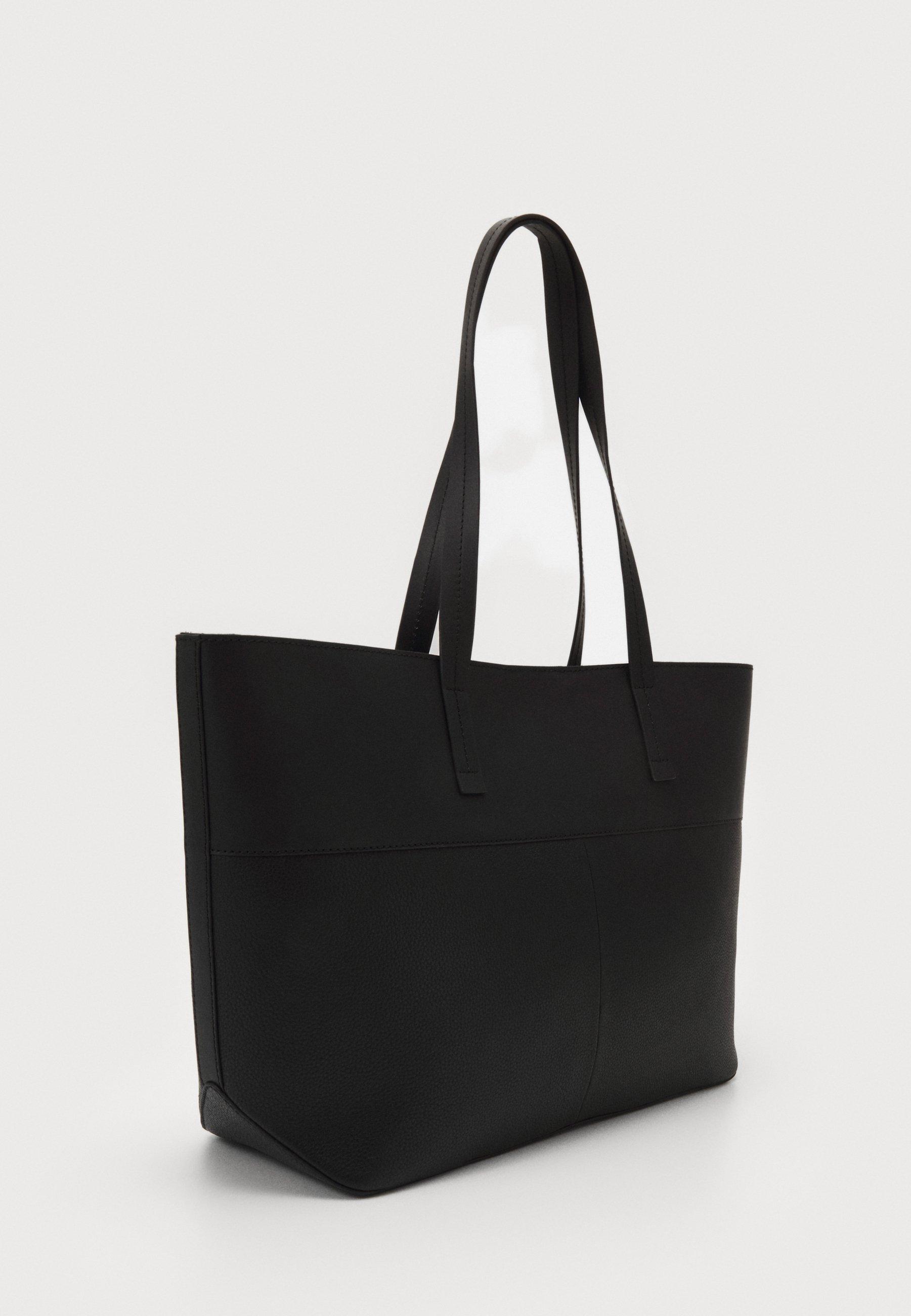 Zign Leather - Shopping Bag Black/schwarz