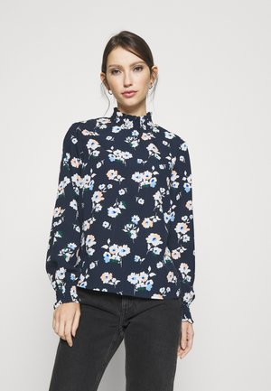 PCJENNI  - Blouse - dark blue/white