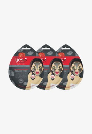 TOMATOES DETOXIFYING CHARCOAL PEEL OFF MASK 3 PACK - Skincare set - -