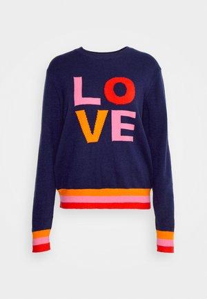 LOVE - Džemperis - navy