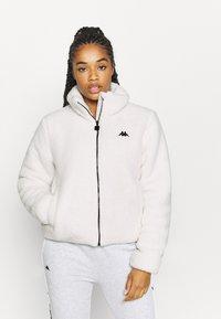 Kappa - VALANA - Fleece jacket - snow white - 0