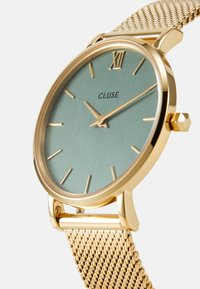 Cluse - MINUIT - Hodinky - gold-coloured/stone green - 4