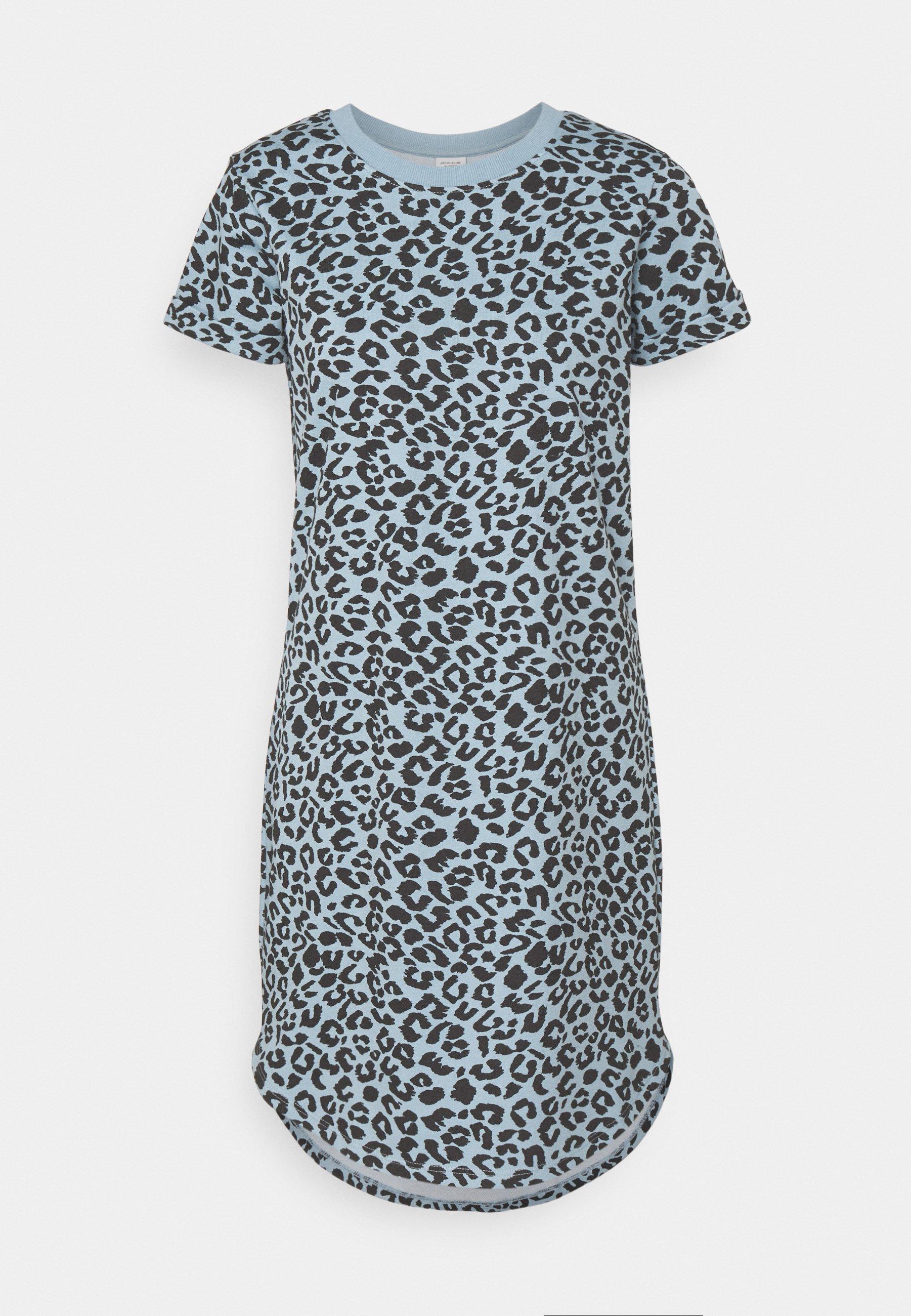 Damen JDYIVY LIFE LEO DRESS - Jerseykleid