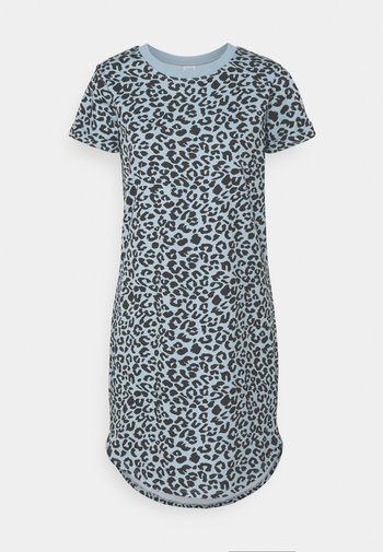 JDYIVY LIFE LEO DRESS - Jersey dress - blue