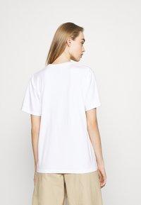 Obey Clothing - ALL NIGHT LONG - Triko spotiskem - white - 2