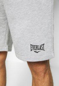 Everlast - LOUIS - Sportovní kraťasy - heather grey - 3