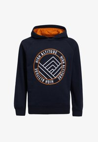 WE Fashion - MET TAPE - Hoodie - dark blue - 0