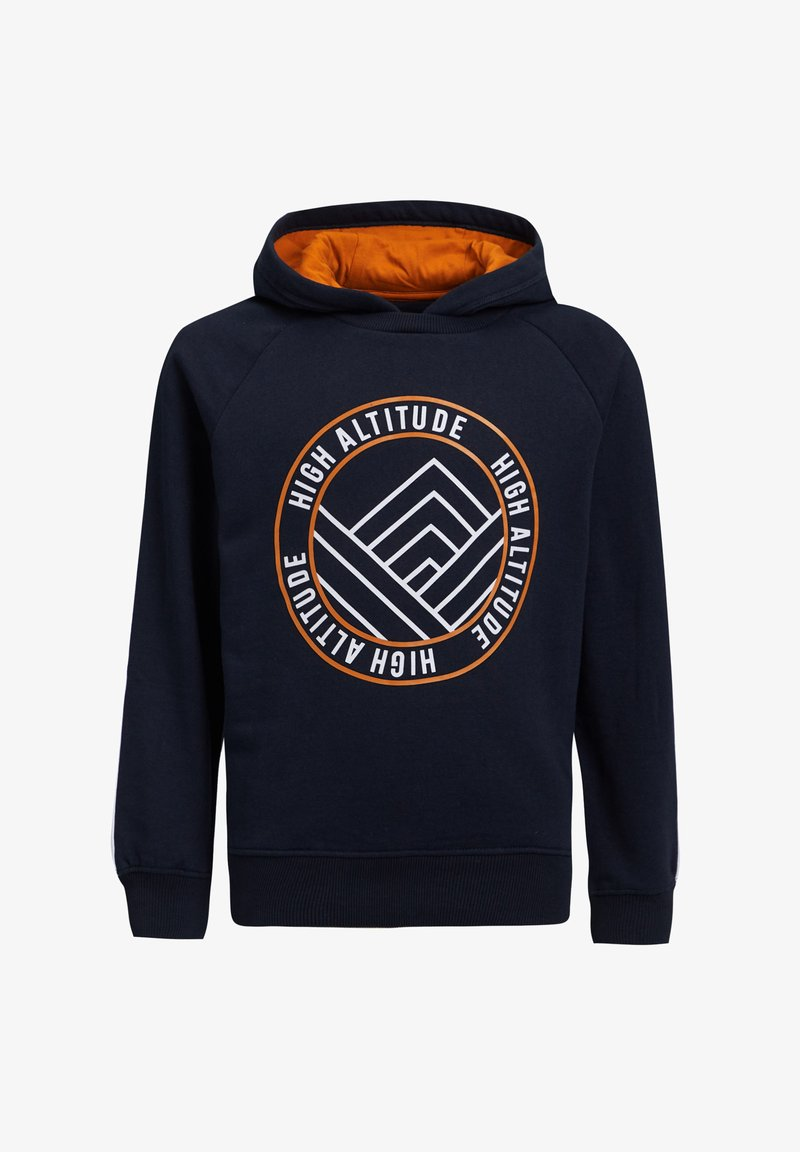 WE Fashion - MET TAPE - Hoodie - dark blue