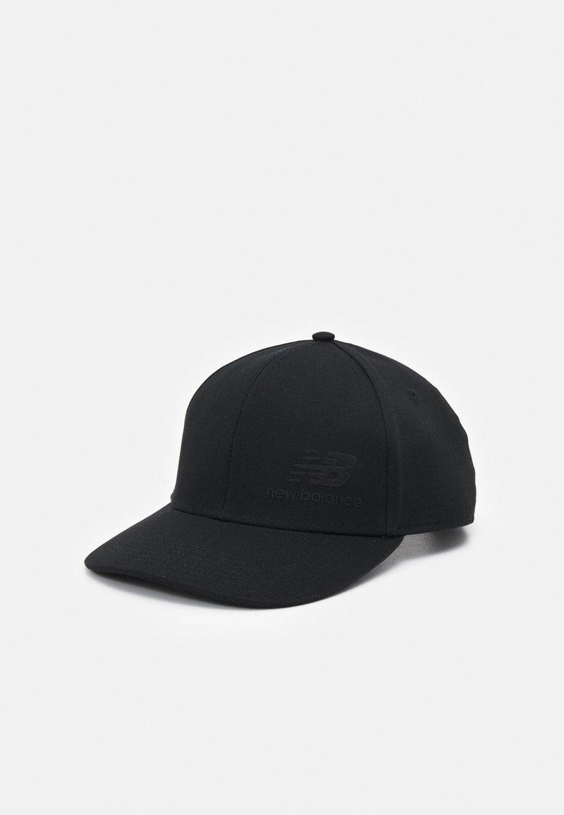 New Balance - TEAM STACKED SNAPBACK UNISEX - Cappellino - black