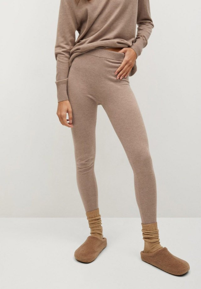 CORIN - Leggings - marron moyen