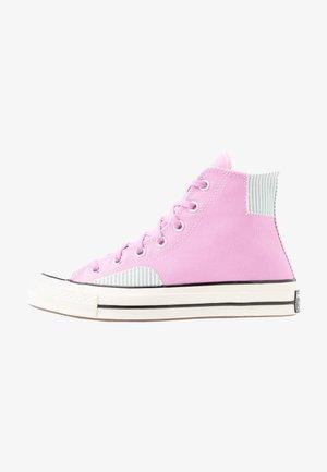 CHUCK 70 - Zapatillas altas - peony pink/mineral teal/egret