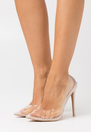 ELDA - High heels - clear/nude