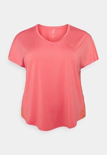 ONPJENSA CURVED TRAIN TEE - Basic T-shirt - tea rose