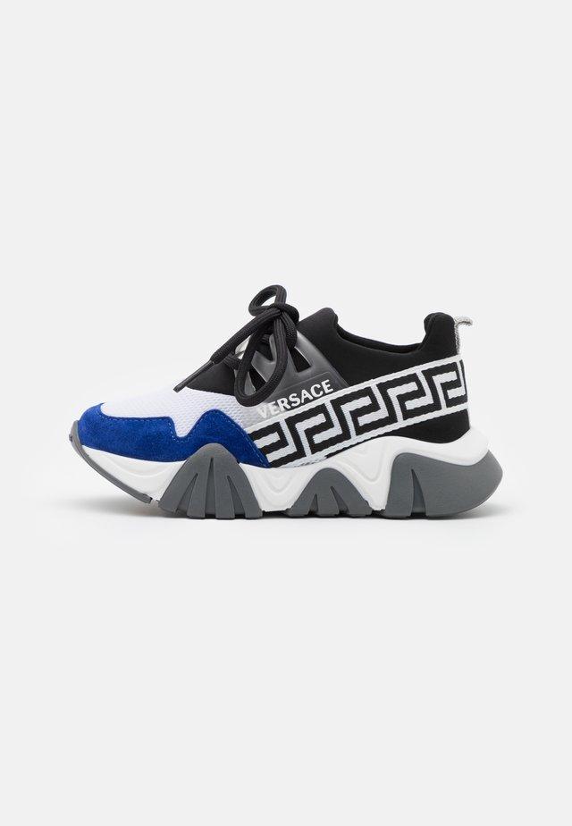 UNISEX - Sneakers laag - black/white/bluette