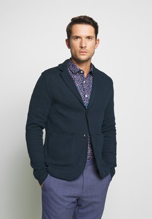 JPRBLACARTER SWEAT BLAZER - Blazer jacket - black/navy