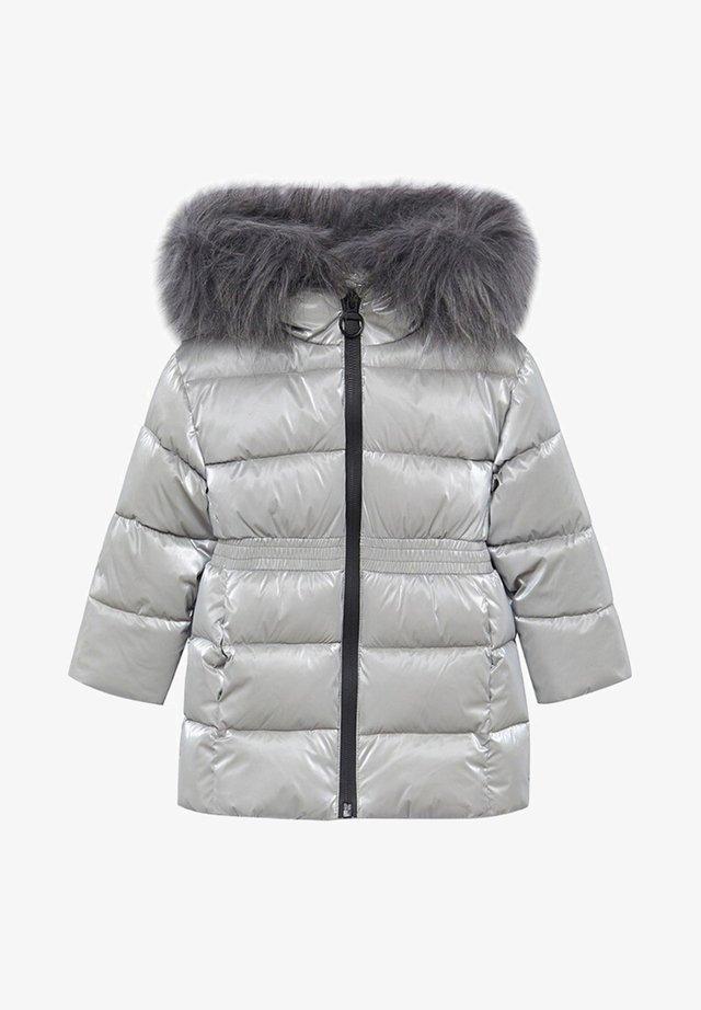 Veste d'hiver - silber