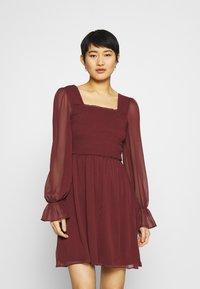 Trendyol - SIYAH - Cocktail dress / Party dress - burgundy - 0