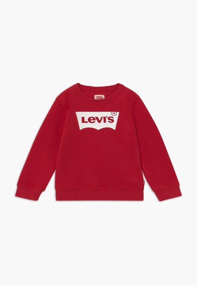 BATWING CREWNECK - Sweatshirt - levi's red/white