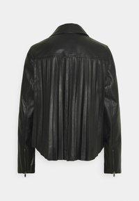 RIANI - Leather jacket - black - 7