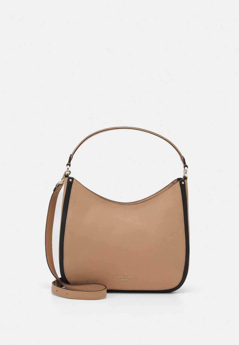 kate spade new york - ROULETTE LARGE BAG - Kabelka - light fawn