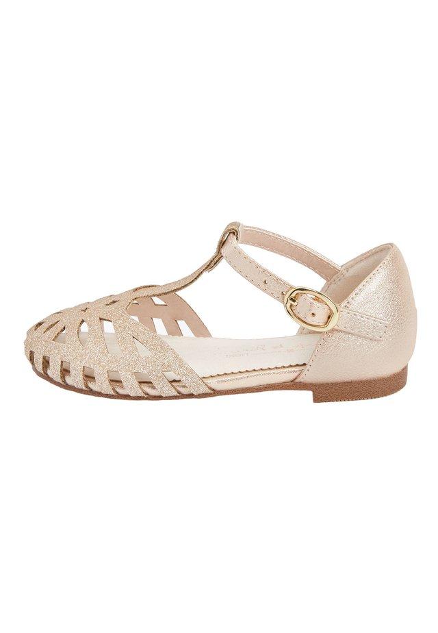 Dětské boty - gold