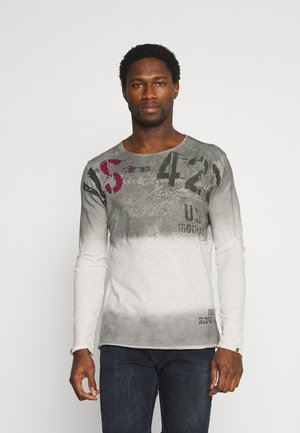 CHALLENGER ROUND - Long sleeved top - silver