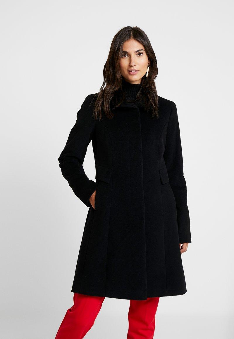 comma - COAT - Płaszcz wełniany /Płaszcz klasyczny - black