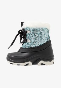 Friboo - Winter boots - black/turquoise - 1