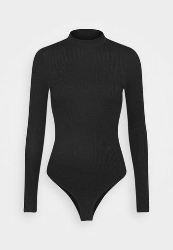 VMMIA HIGHNECK BODY - Topper langermet - black