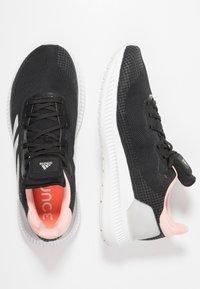 adidas Performance - SOLAR BLAZE - Juoksukenkä/neutraalit - core black/grey one/glow pink - 1