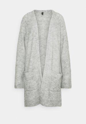 YASALVA LONG CARDIGAN TALL - Cardigan - light grey