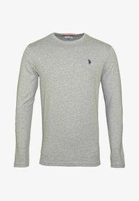 U.S. Polo Assn. - MIT RUNDHALSAUSSCHNITT R-NECK - Long sleeved top - grau - 0