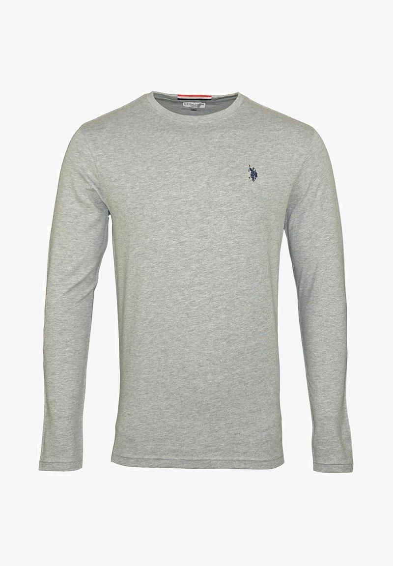 U.S. Polo Assn. - MIT RUNDHALSAUSSCHNITT R-NECK - Long sleeved top - grau