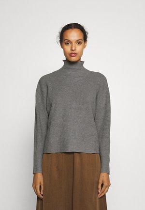 SIMONA ANITA  - Stickad tröja - light grey melange