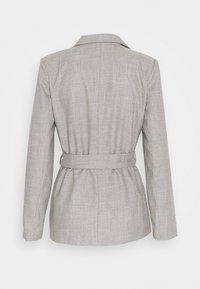Trendyol - Krótki płaszcz - gray - 1