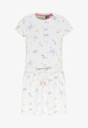 MAGY FLOWERS - Day dress - white