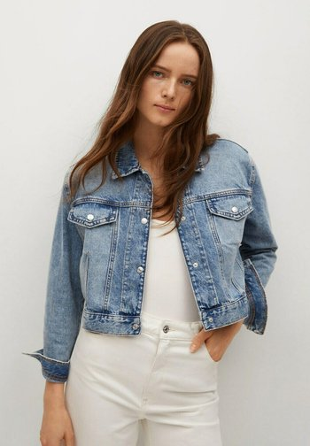 Denim jacket - middenblauw
