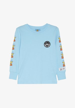 KIDS LOGO SLEEVE - Long sleeved top - blue