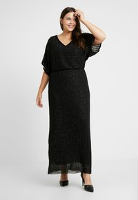 Lace & Beads Curvy - MAXI - Occasion wear - black - 0