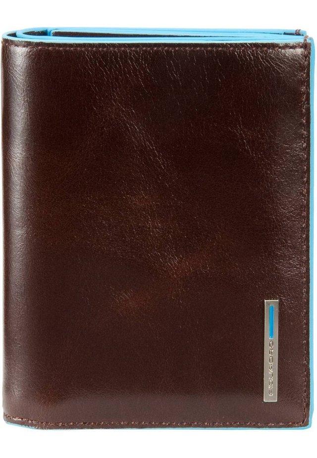 BLUE SQUARE (12 cm) - Wallet - mogano
