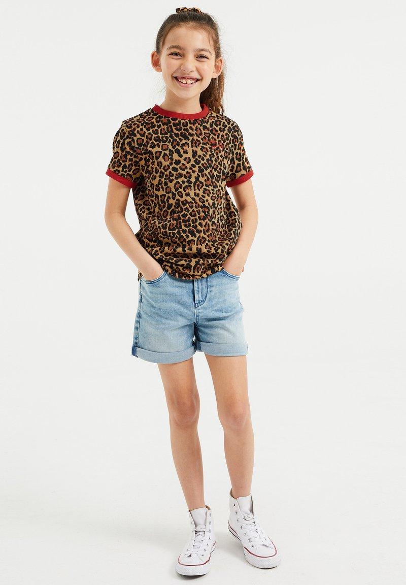 WE Fashion - T-shirt print - multi coloured