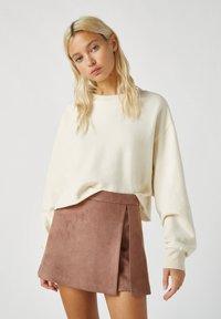 PULL&BEAR - A-line skirt - rose gold - 3