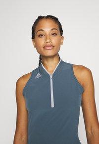 adidas Golf - 3 STRIPE DRESS - Sportovní šaty - legacy blue - 4