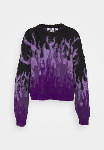 REVOLT - Jumper - purple/black